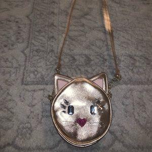 Betsey Johnson Cat Purse Crossbody !